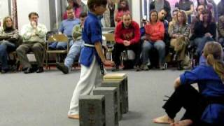 Mile High Karate/Black Belt Test/Cliff Board Breaking
