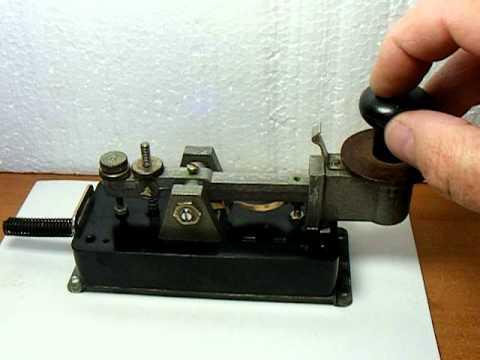 Telegraph Key Morse Code 2