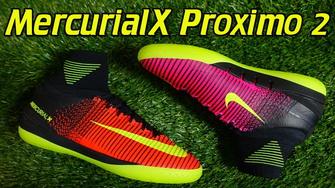 3c0c5e9361ea Nike MercurialX Proximo 2 Indoor (Spark Brilliance Pack) - Review + On Feet