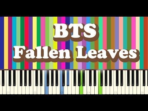 BTS(방탄소년단) - 고엽(Fallen Leaves) - piano cover