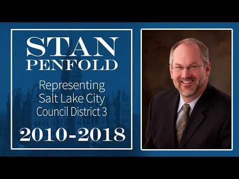Stan Penfold - Salt Lake City Council: 2010 – 2018