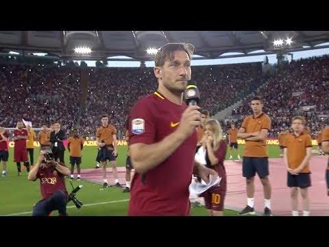 Totti: The farewell speech