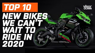 10 Brand New Motorcycles We Can't Wait To Ride In 2020 | Aprilia RS660, Kawasaki ZX-25R...