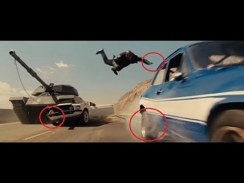 Fast and Furious 6 MISTAKES poster