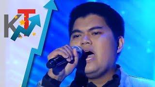 """Glenford Gamilde punong-puno ng emosyon na inawit ang """"Sana"""" sa Tawag ng Tanghalan 🎤😢"""