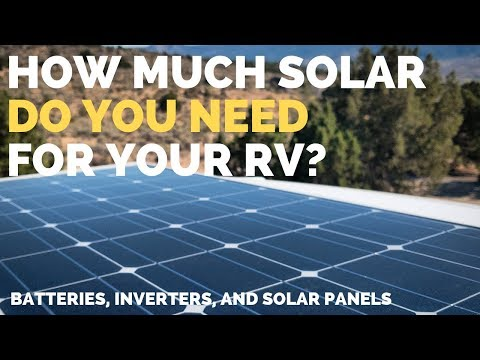 How to Calculate Your Solar Power Needs   Full Time RV Tips