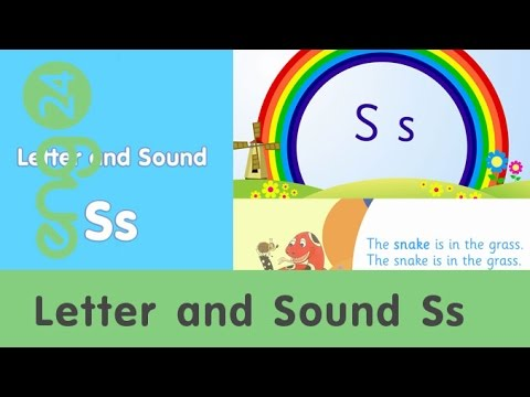 eng Hour : Letter and sound: Ss [eng24]