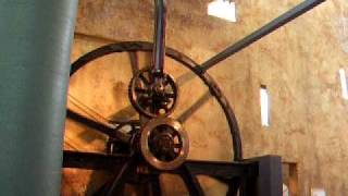 The oldest surviving rotative steam engi...
