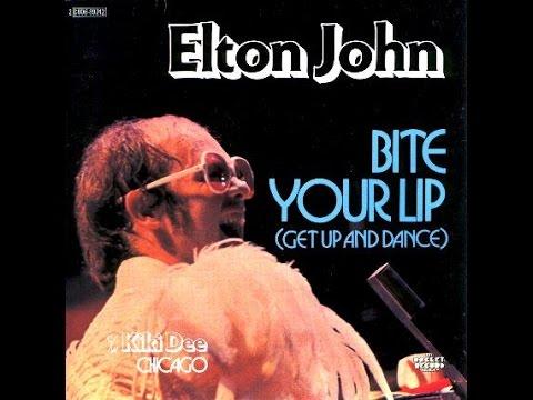 Elton John - Bite Your Lip (Get Up and Dance!) (1976) With Lyrics!