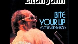 Elton John - Bite Your Lip (Get Up and Dance!) (1976) With Lyrics!