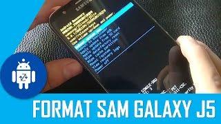 Formatear Samsung Galaxy J5
