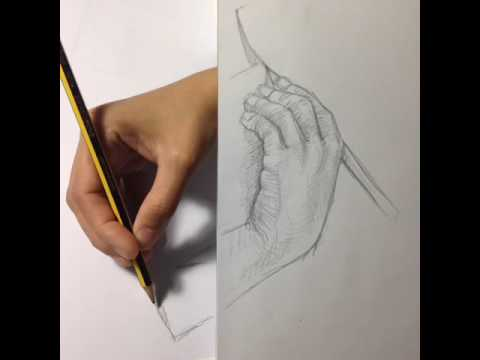 Blurry Edge Between Pencilpaper Reality Drawing MC Eschers - Reality with pencil and paper