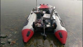 Поворотное складное кресло в лодку ПВХ. Обзор рамы.