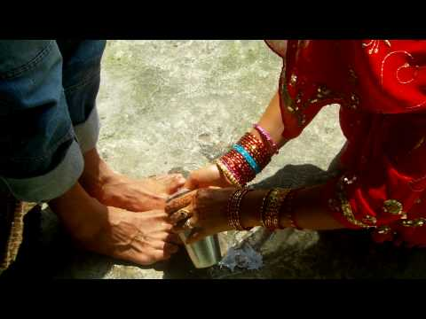 Husband & Wife Hindu Ritual