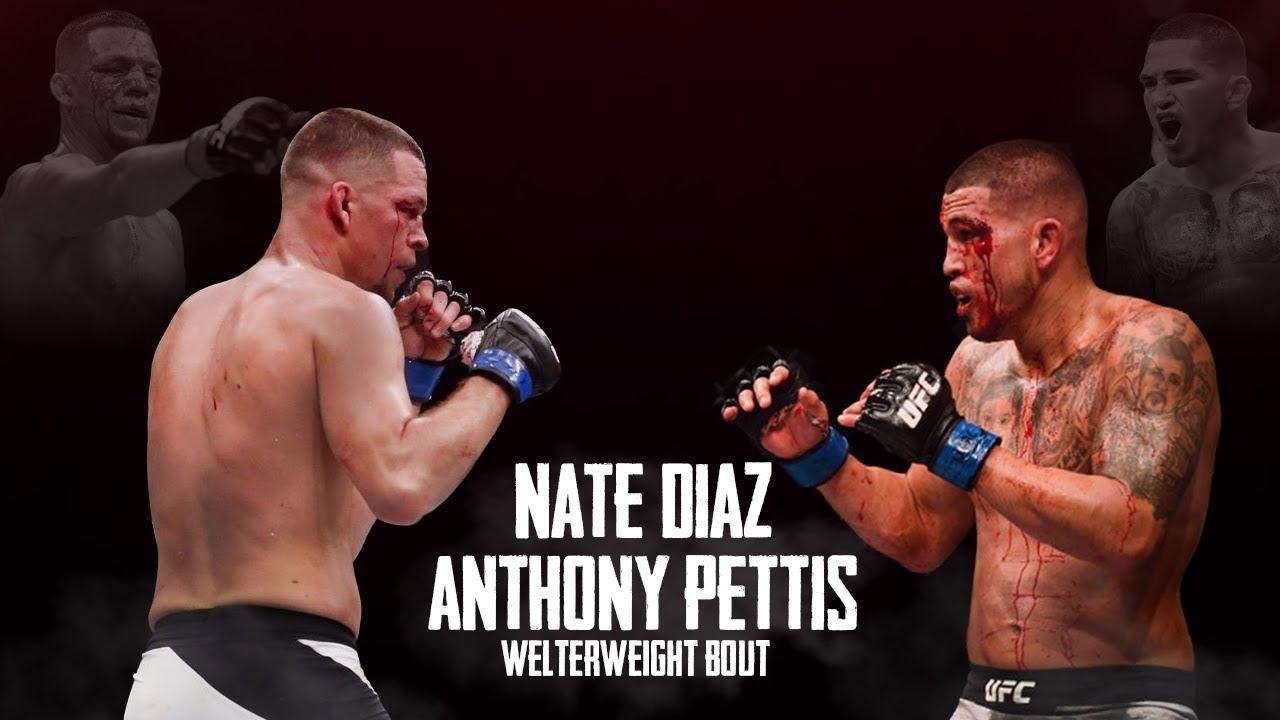 nate diaz anthony pettis fight