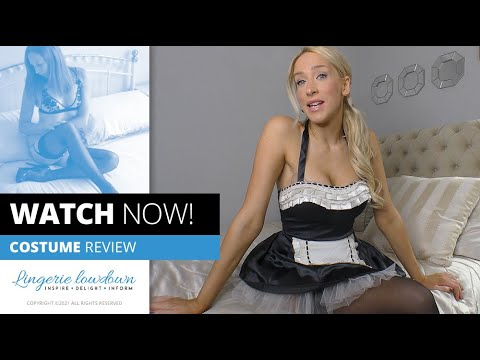 Download Samantha Alexandra : Ann Summers maid's costume [PREVIEW]