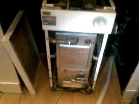 Measuring Room Co Of A Floor Standing Baxi Boiler Youtube