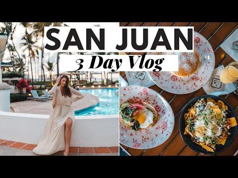 Puerto Rico Vlog: Exploring San Juan 2021- Dana Berez