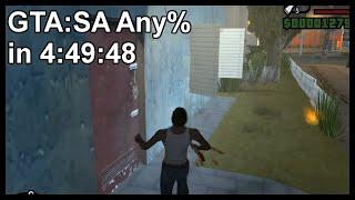GTA:SA Any% in 4:49:48