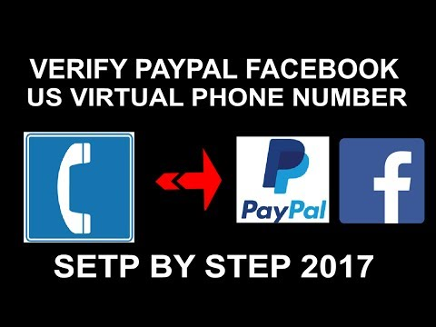 How To Get Free Personal US Virtual Number Free To Verify Paypal, Facebook Or Anything 2017