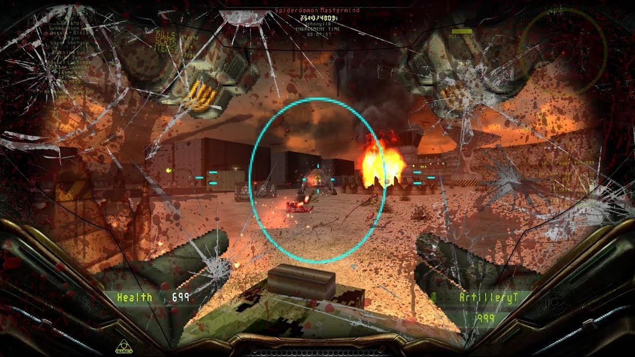 Brutal DOOM v21 Extermination Day Latest Build: Level 11 [100% secrets]