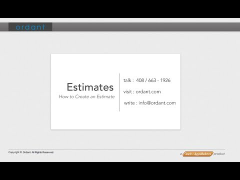 Creating A Print Estimate – Video Tutorial for Ordant Print ...