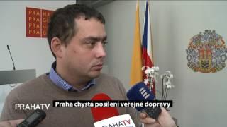 Praha chystá posílení veřejné dopravy