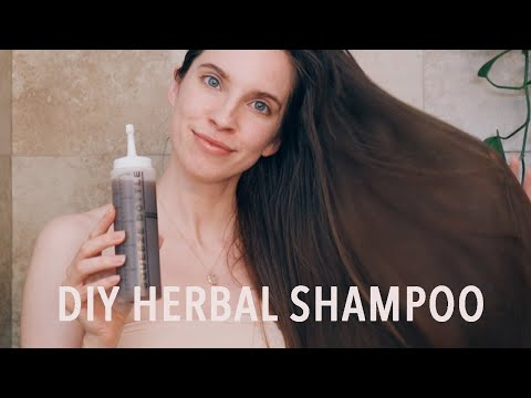 DIY NATURAL SHAMPOO RECIPE (Shikakai, Reetha, Amla, Fenugreek) | Healthy Haircare - YouTube