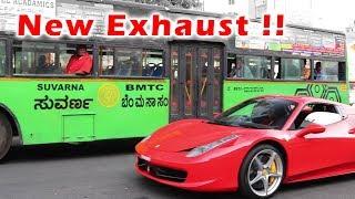 LOUD Novitec Rosso Ferrari 458 HURT MY EAR in India