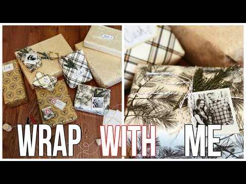 WRAP PRESENTS WITH ME VLOG || NOEL LABB