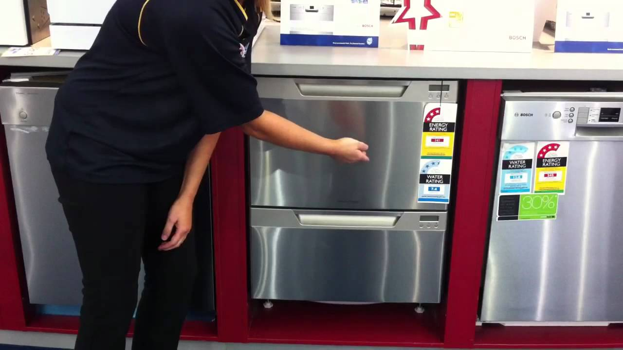 Fisher Amp Paykel Double Drawer Dishwasher Dd60dcx6 Youtube
