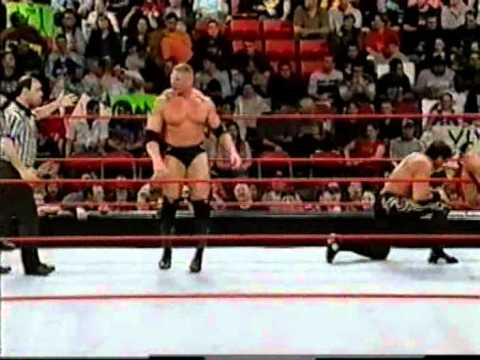 Brock Lesnar & Ron Waterman vs Randy Orton & Rico Constantino (Dark Match)
