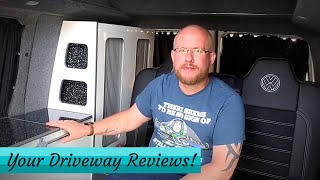 YOUR REVIEWS - VW T5 Camper, Toyota Alphard Camper and Maisie's Campervan
