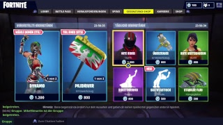Fortnite Live Stream/ Season 5/ Bald Skins Gift/ New Shop