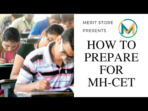 How to prepare for MHT-CET 2017 + FREE RESOURCES IN THE DESCRIPTION