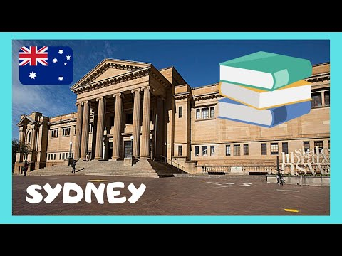 SYDNEY, the beautiful State Library of New South Wales, the oldest library in AUSTRALIA
