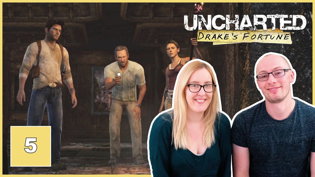SANCTUARY WITH SULLIVAN & GOING UNDERGROUND | Let's Play Uncharted: Drake's Fortune | Part 5