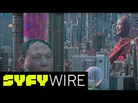 Exclusive How Ghost In The Shell Created Those Giant Holograms Syfy Wire Youtube