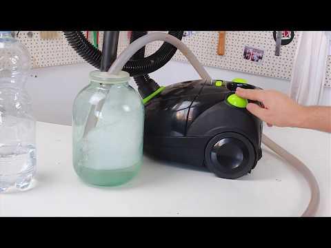 видео: Как сделать водяной пылесос