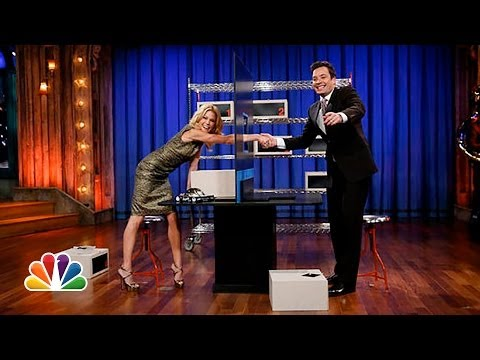 Box of Lies with Julie Bowen Late Night with Jimmy Fallon