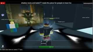 roblox game:shadow the hedgehog obby part 1