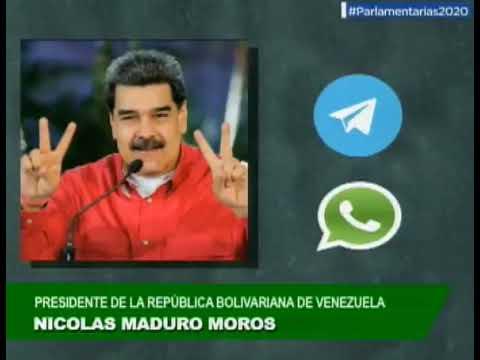 Maduro y Cilia Flores envían llamado a votar por Whatsapp y Telegram
