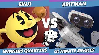 GOML 2020 SSBU - 8bitman (ROB) Vs. EMP | Sinji (Pac-Man) Ultimate Winners Quarters