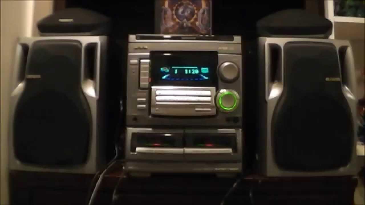 Blast From My Past With The Aiwa Cx Na508 Mini Hi Fi
