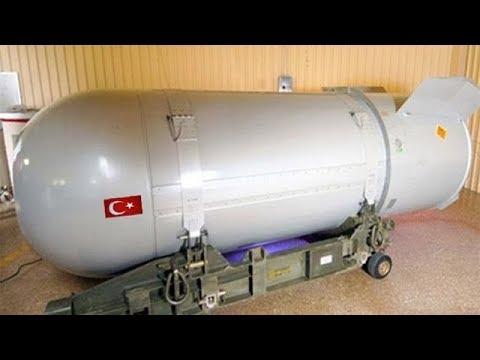 TÜRKİYE'NİN İLK NÜKLEER ATOM BOMBASI İBRAHİM