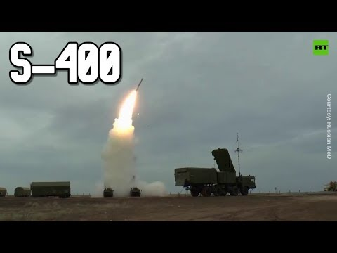 Russia's S-400 air defense system in action