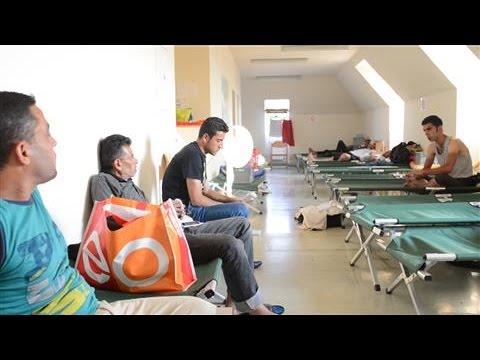 Refugees Find Shelter in Austria