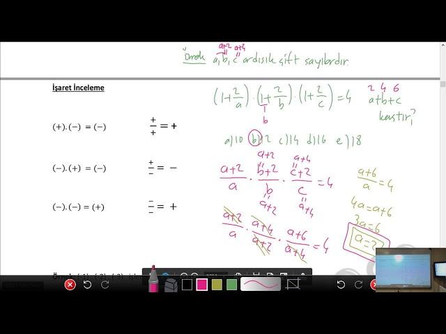 DGS Sayısal - Temel Kavramlar - 2 / nettekurs.com Online DGS Kursu