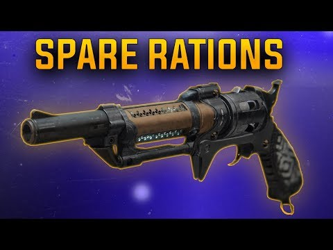 Destiny 2: Spare Rations Hand Cannon | New Gambit Prime Weapon | Season Of The Drifter ! thumbnail