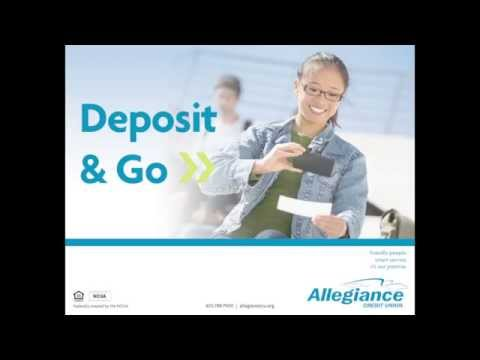 Mobile Check Deposit Tutorial